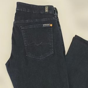 7 For All Mankind Kimmie Bootcut Dk Wash Sz 30
